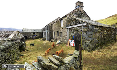 Sleddale Hall - The location for two outdoor screenings of Withnail and I