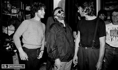 Paul McGann, Ringo Starr and Bruce Robinson at a charity event
