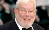 Richard Griffiths on the red carpet
