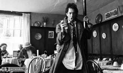 Withnail in the Penrith tearooms
